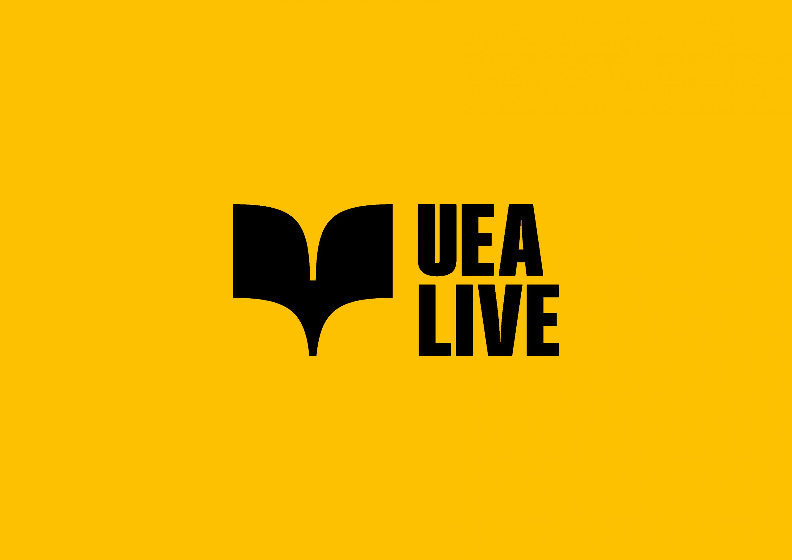 UEA Live logo design
