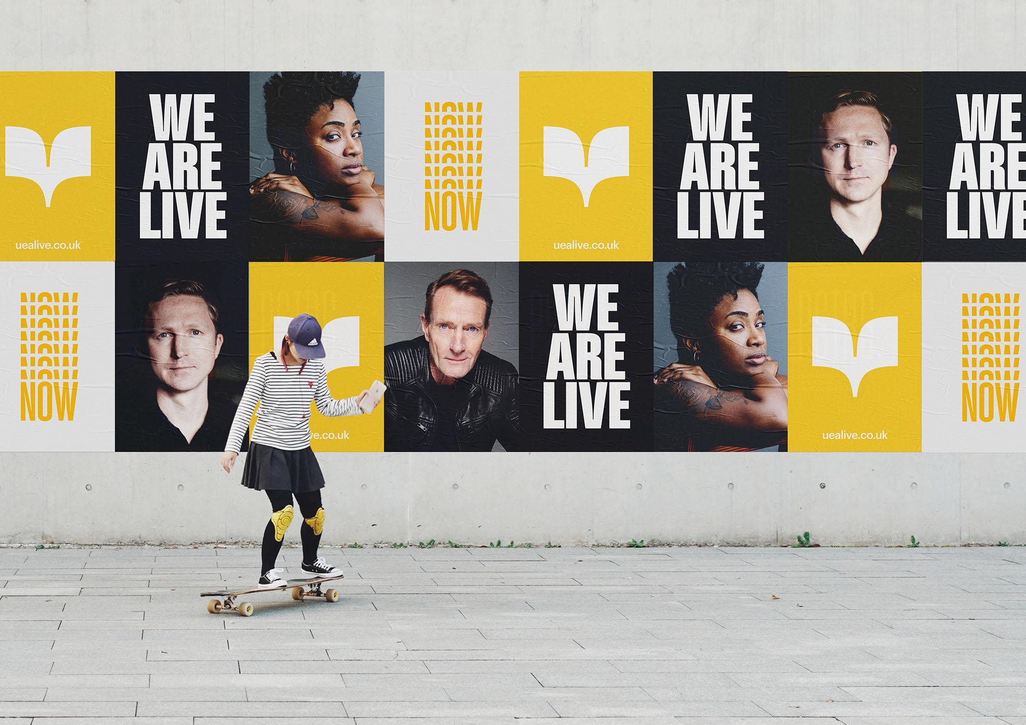 UEA Live branding