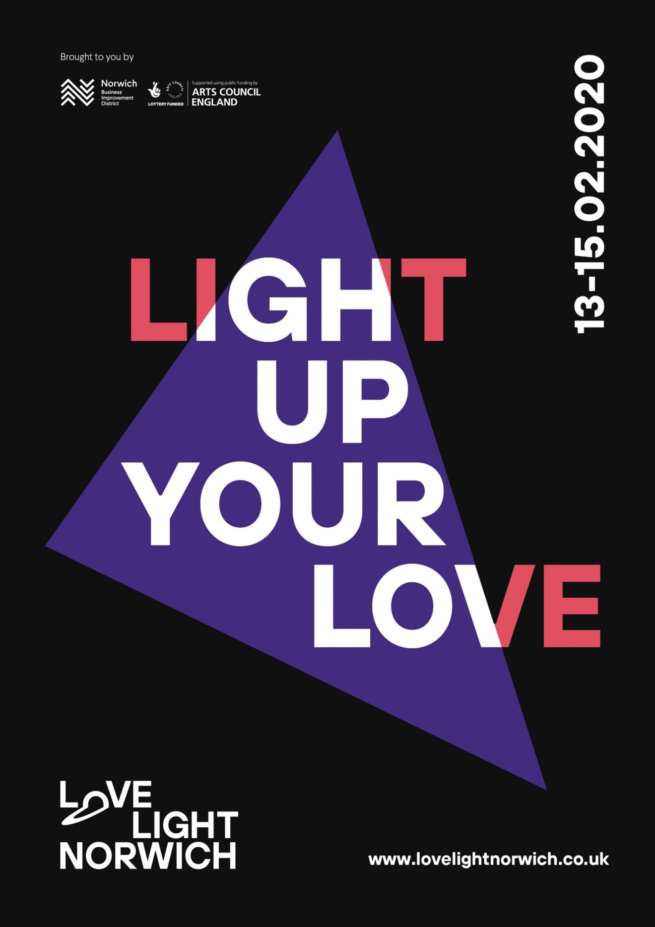 Love light poster