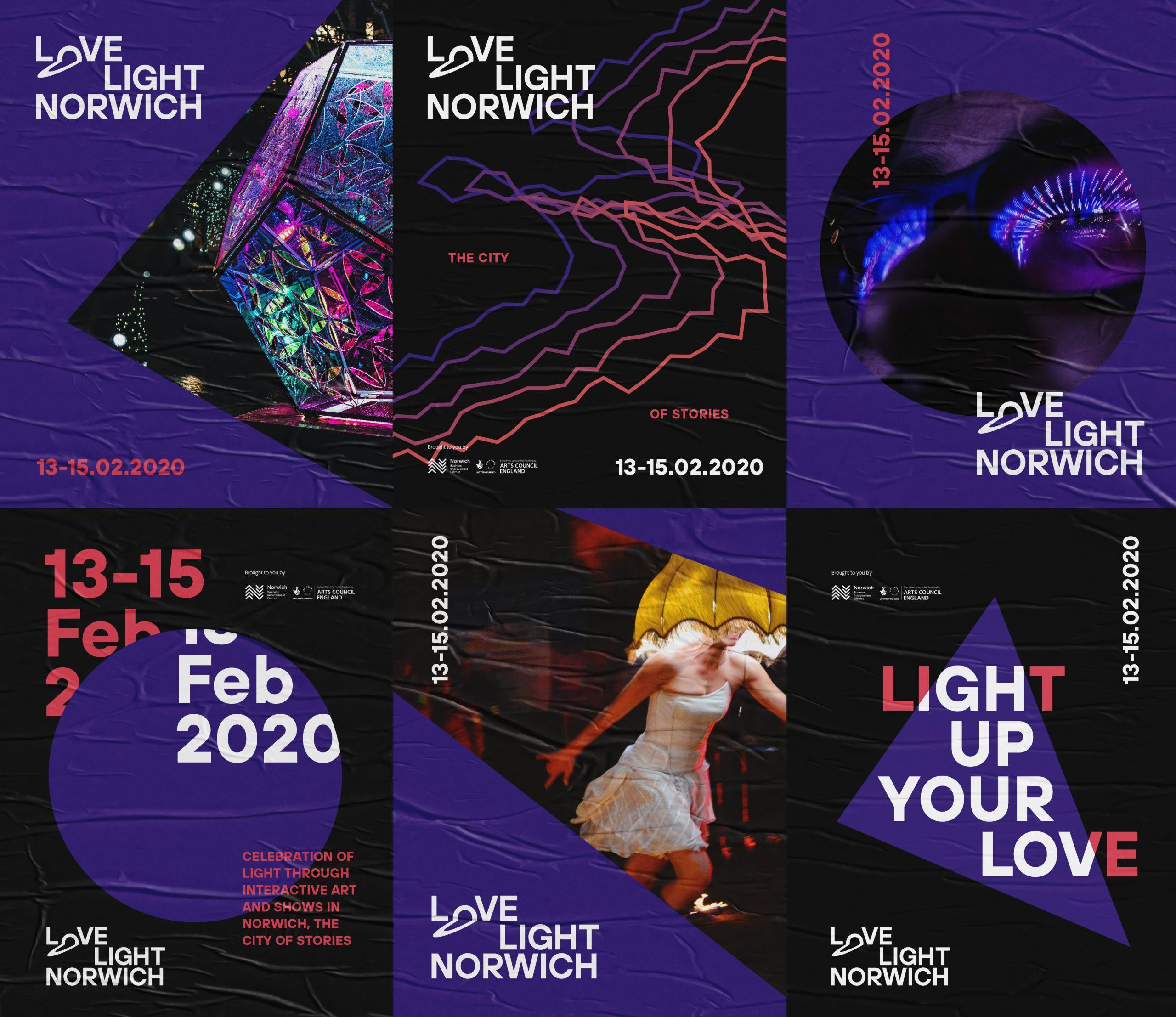 Love Light branding