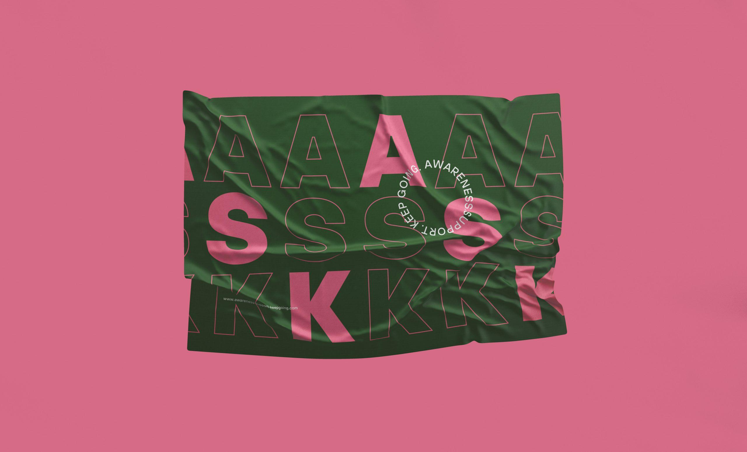 ASK branding flag
