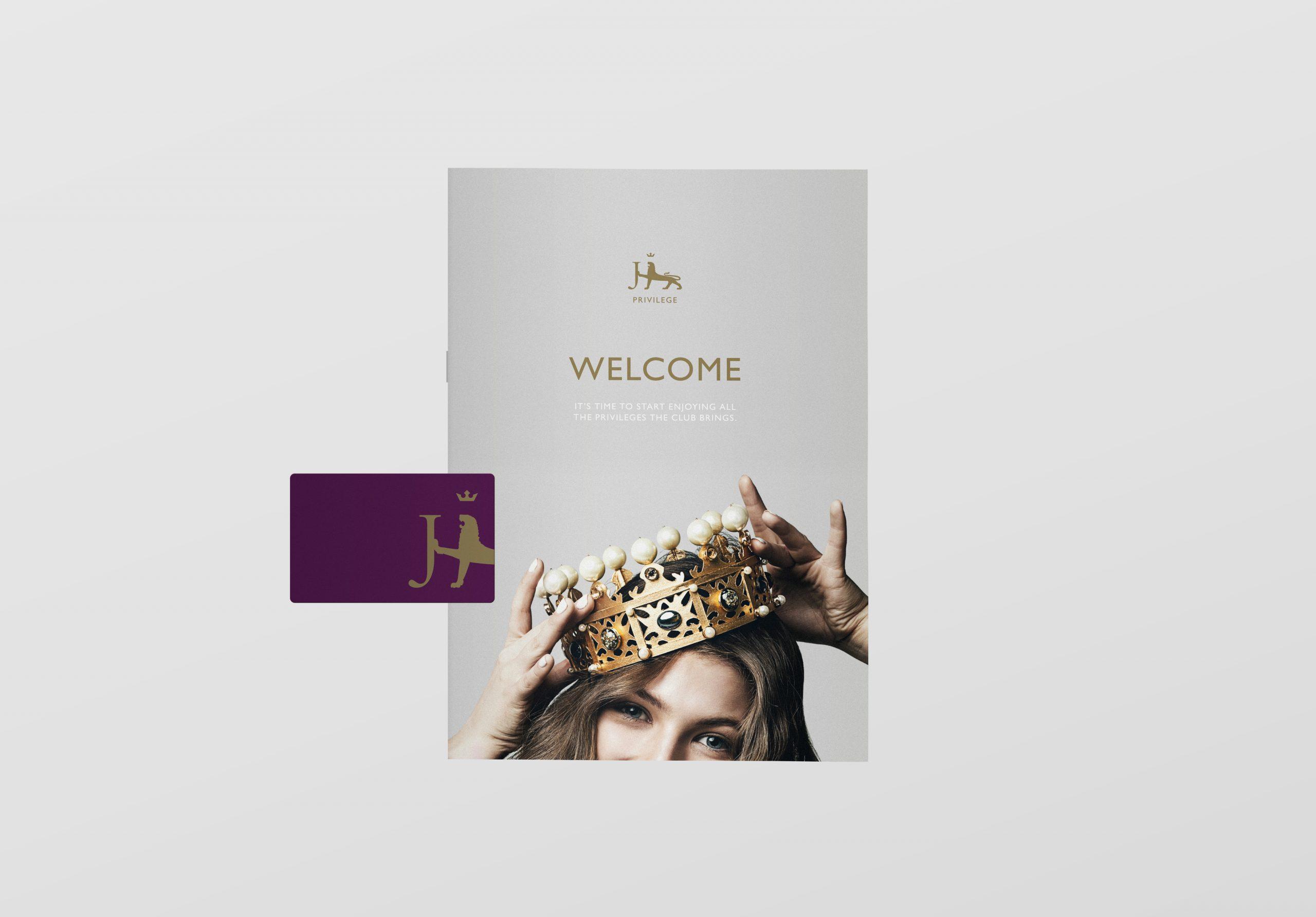 Jarrold leaflet and Privilege card branding