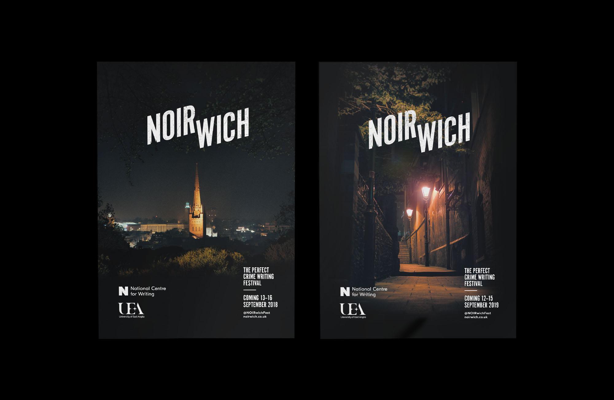 Noirwich Flyers design