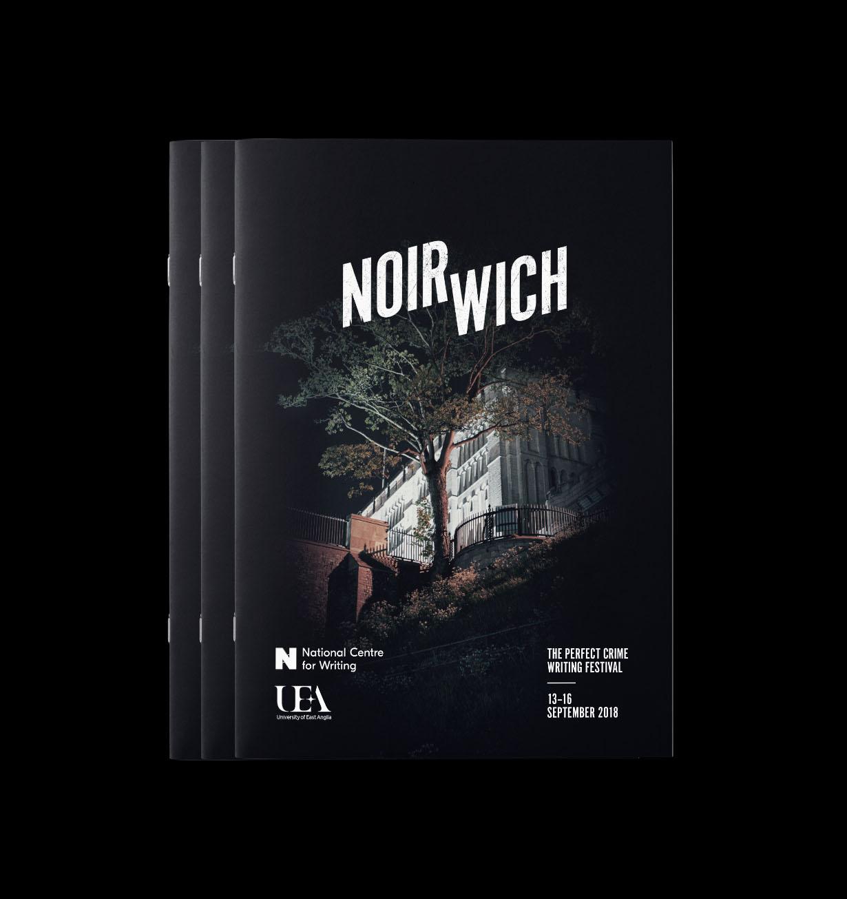 Noirwich brochure design