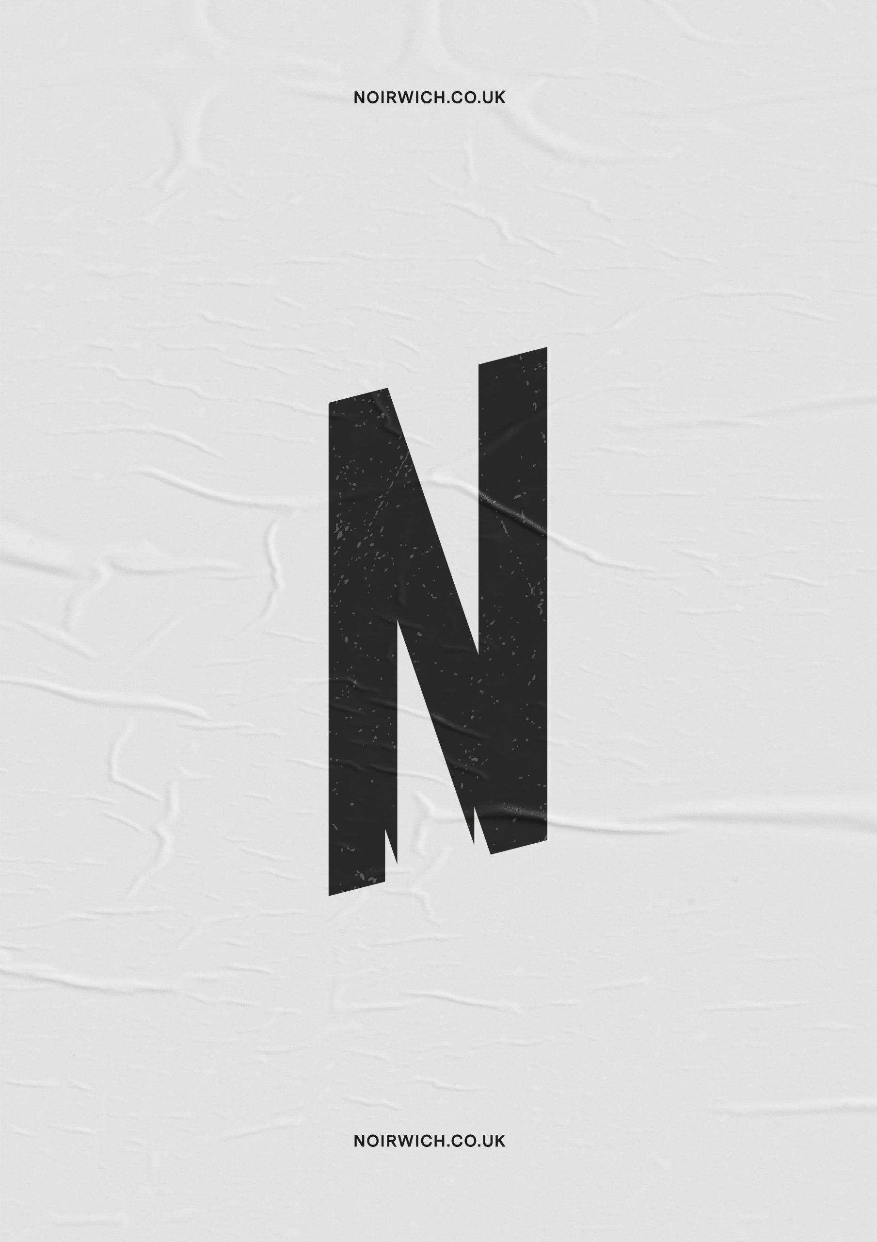 Noirwich poster design
