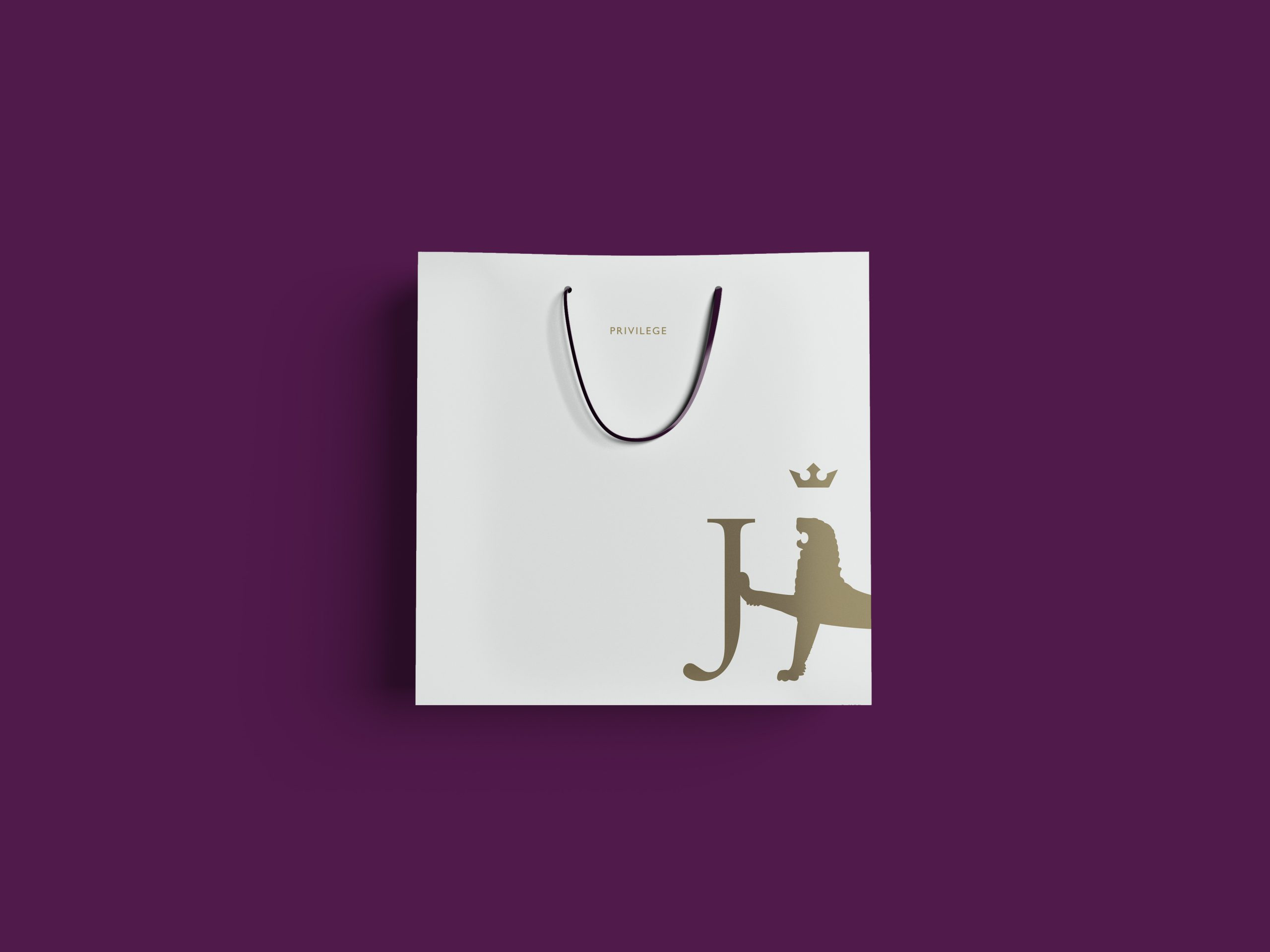 Jarrold branding bag design